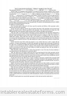 Forms Used in Particular Jurisdictions·California·Installme