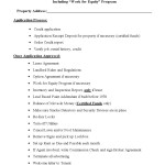 Checklist for Lease-Options and Leases