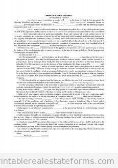 Commercial Or Industrial Property - Real Estate Sale Contract