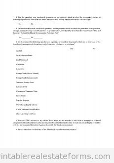 Illinois - Environmental Disclosure Document for Transfer of