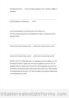 Mortgage Servicing Transfer Disclosure