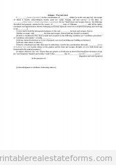 Alabama-Warranty Deed