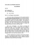 Cover Letter to Loss Mitigation Department 1