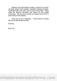Cover Letter to Loss Mitigation Department