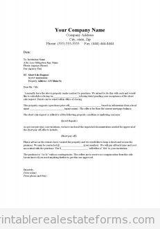 short offer letter- good condition
