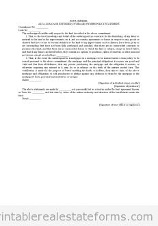 Alta Statement