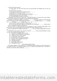 Attorney's Final Certificate
