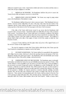 Land Trust Agreement