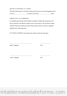 Rental Agreement (Generic)