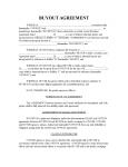 Buyout Agreement