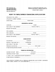 RENTAL & OWNER FINANCE APPLICATION