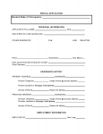 TENANT RENTAL APPLICATION