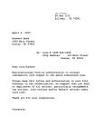 lender letter