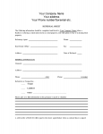 Referral Sheet for Realtors