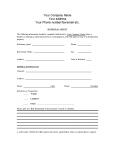 Referral Sheet for Realtors