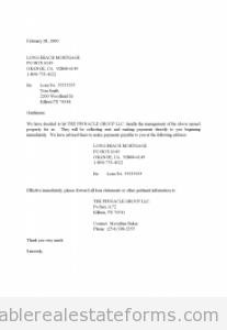 Acquisition management letter