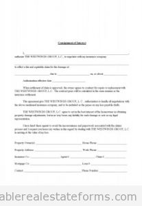 Consignment of Interest in Insurance Claim