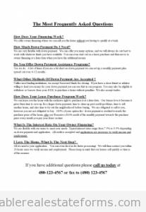FAQs Flyer