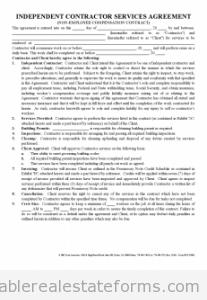 Independent Contractor Agreement