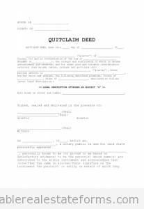 Quit-Claim Deed